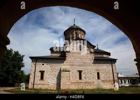 L'église de Saint Nicholas Timisu de mauvais, Walachei, Roumanie Banque D'Images
