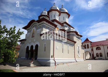 Eglise Saint Nicolas le petit Timisu de mauvais, Walachei, Roumanie Banque D'Images