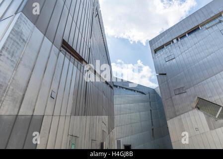 L'extérieur du Musée Juif de Berlin, Allemagne Banque D'Images