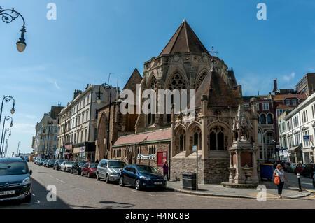 L'église Holy Trinity à Hastings Banque D'Images