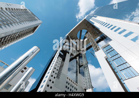 Osaka, Japon - 28 novembre 2015: Ciel Umeda à Osaka. Ciel Umeda est le douzième plus grand bâtiment à Osaka et Banque D'Images