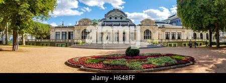 Une vue panoramique de l'Opéra de Vichy, Palais de Congrès, Allier, Auvergne, France