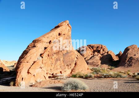 State Park Vallée de Feu au Nevada, USA (United States of America): Rainbow Vista