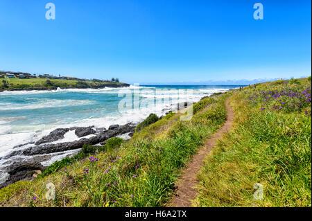 Vue de la côte à côte, Illawarra Kiama, New South Wales, NSW, Australie Banque D'Images