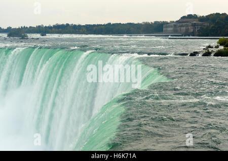 Horseshoe Falls, une partie de Niagara Falls, au Canada. Banque D'Images