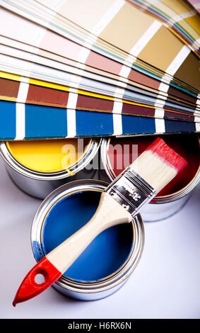 outils matériaux Banque D'Images