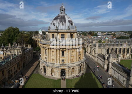 L'Université d'Oxford Radcliffe Camera library building Banque D'Images
