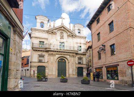 VALLADOLID, ESPAGNE - 6 novembre, 2016: l'église de Santa pénitentielle Vera Cruz est une église située dans le Banque D'Images