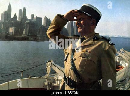 Der Gendarm vom Broadway, (LE GENDARME A NEW YORK) F-IT 1965, Regie: Jean Girault, LOUIS DE FUNES, Ausdruck: uniforme, Banque D'Images