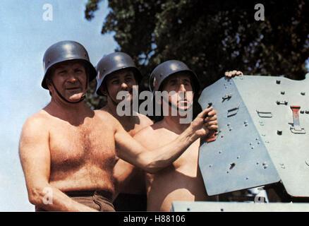 Hurra, die 7. Kompanie ist wieder da!, LA VILLA HERBERT (SUR UN 7e compagnie!) F 1975, Regie: Robert Lamoureux, Banque D'Images