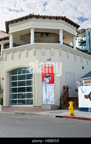 Vue extérieure de l'île Catalina Museum à Avalon sur l'île de Catalina, au large de la côte de la Californie du Banque D'Images