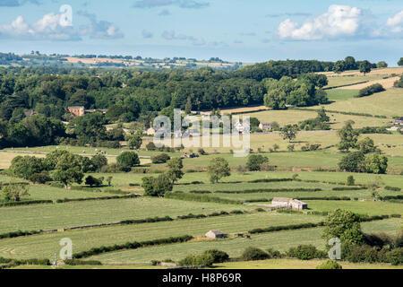 Royaume-uni, Angleterre, dans le Yorkshire, Wensleydale, Middleham - La petite ville de Middleham situé dans Wensleydale, Banque D'Images