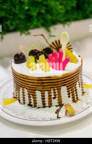 Gâteau, fleuve de voyage, Chine Banque D'Images