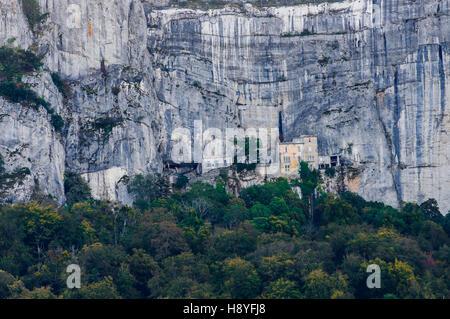 Monastère de la Sainte Baume le Massif de la Sainte Baume, var france 83 Banque D'Images