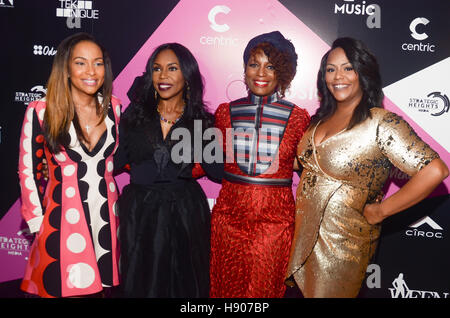 New York, NY, USA. 19 Oct, 2016. Valeisha Butterfield-Jones, Lauren Lake, Sabrina Thompson et Kristi Henderson assister Banque D'Images
