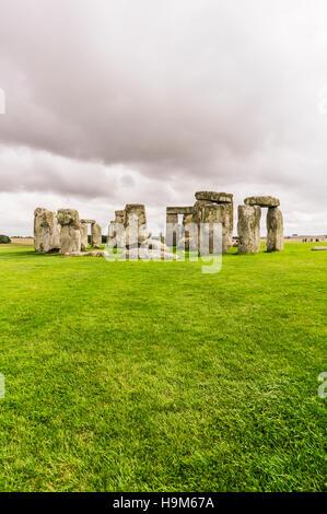 Royaume-uni, Angleterre, dans le Wiltshire, Stonehenge Banque D'Images