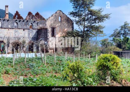 Ta Phin, monastère, Lao Chai, SAPA, Vietnam, Asie Banque D'Images