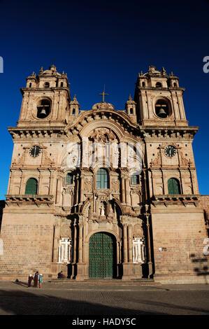 La Compagnie de Jésus, La Compañía de Jesús, Plaza de Armas, Cuzco, Pérou, Amérique du Sud Banque D'Images