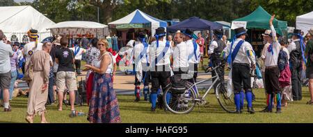 Warwick folk festival Banque D'Images