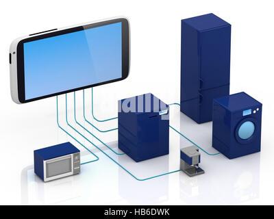 Internet des Objets Concept Banque D'Images