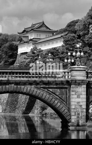 Palais impérial, Tokyo, Japon, Asie
