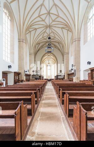 L'église gothique à Cluj Banque D'Images