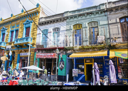 L'ARGENTINE, Buenos Aires, La Boca, caminito Banque D'Images
