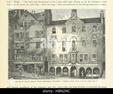 """Image prise à partir de la page 277 de """"Cassell's Old et New Edinburgh: ... Illustré, etc' image prise à partir Banque D'Images"""