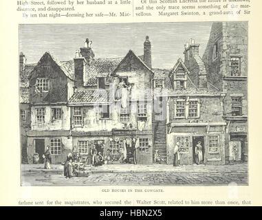 """Image prise à partir de la page 282 de """"Cassell's Old et New Edinburgh ... Illustré, etc' image prise à partir de Banque D'Images"""
