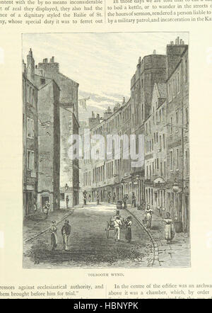 """Image prise à partir de la page 255 de """"Cassell's Old et New Edinburgh: ... Illustré, etc' image prise à partir Banque D'Images"""