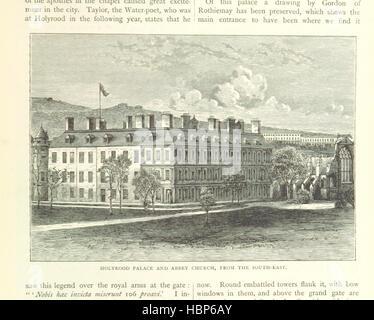 """Image prise à partir de la page 95 de """"Cassell's Old et New Edinburgh ... Illustré, etc' image prise à partir de Banque D'Images"""