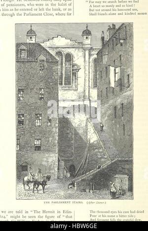 """Image prise à partir de la page 212 de """"Cassell's Old et New Edinburgh ... Illustré, etc' image prise à partir de Banque D'Images"""