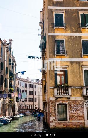 Voyage Italie - séjour à Cannaregio district (sestieri) dans la ville de Venise Banque D'Images