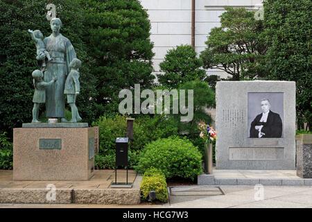 Veuve de guerre, Monument Musée Yushukan, Tokyo, Japon