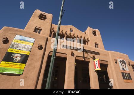 Nouveau Mexique, Santa Fe, l'IAIA Museum of Contemporary Arts Autochtones Banque D'Images