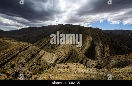 Canyons de la haut-Atlas, Maroc