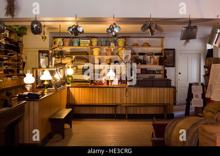 Harpers Ferry, WV - la Mercerie à Harpers Ferry National Historical Park. Banque D'Images