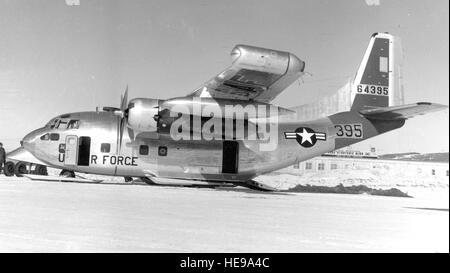 Les dix C-123Js avait construit des avions J44 montée sur leurs ailes, et le type a vu une utilisation intensive Banque D'Images