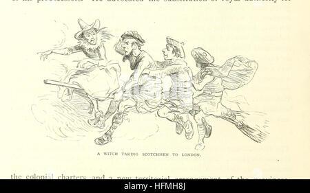 """Image prise à partir de la page 36 de """"notre pays. L'histoire d'un ménage, ... à partir de la découverte de l'Amérique Banque D'Images"""
