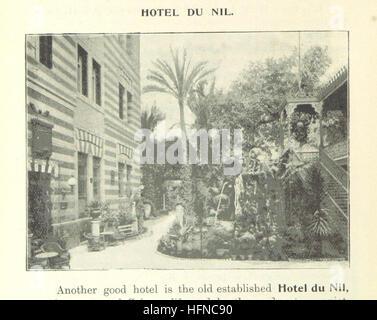 """Image prise à partir de la page 50 de """"Le Caire et l'Egypte ... Comprenant ... et illustré d'un compte voyage sur Banque D'Images"""