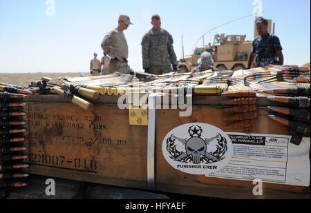 100716-N-0879R-976 SHAMMAR JARBA, l'Iraq (16 juillet 2010) Les marins de la Marine affecté à l'unité mobile de destruction Banque D'Images