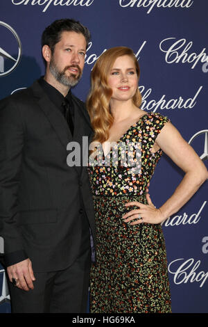 Palm Springs, CA. 2 Jan, 2017. Amy Adams au 2017 Festival International du Film de Palm Springs Palm Springs Gala Banque D'Images