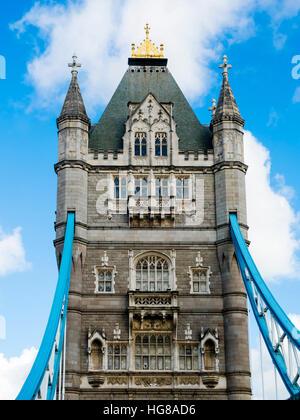 Tower Bridge, Londres, Angleterre, Royaume-Uni Banque D'Images