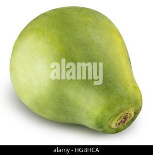 La papaye isolé sur fond blanc avec clipping path Banque D'Images