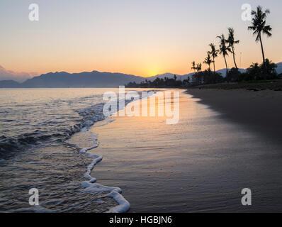 Lever du soleil à Dili, au Timor oriental