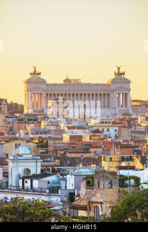 Altare della Patria monument à Rome, Italie Banque D'Images
