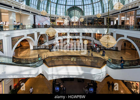 Centre commercial Mall of the Emirates shopping mall, Dubai, Émirats Arabes Unis Banque D'Images