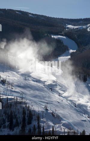 Vail, Colorado - Neige à station de ski de Vail Banque D'Images