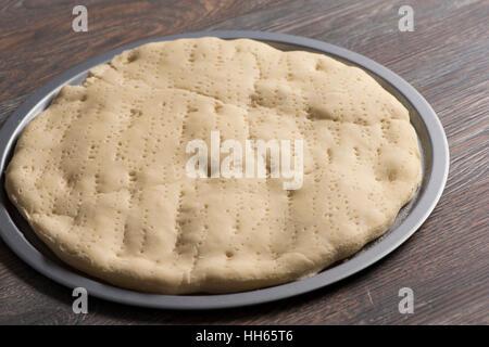 Pâte à pizza Banque D'Images
