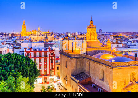 Séville, Espagne. Banque D'Images